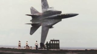 How a cheeky pilot made the greatest F-14 Tomcat flyby ever photographed!
