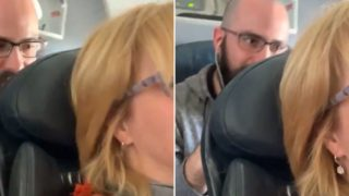 """Airline CEO explains seat reclining etiquette in the wake of """"bloke punching sheila's seat"""" video"""