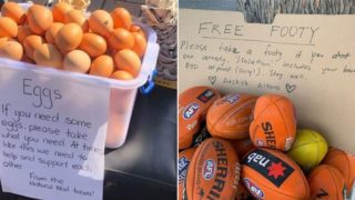 #KindnessPandemic hashtag shows heartwarming acts bringing Aussies and others together
