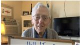 100 year old bloke asked the Internet for 101,000 likes after his birthday was cancelled