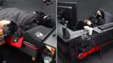 Japanese company has invented the ultimate 'gaming bed'