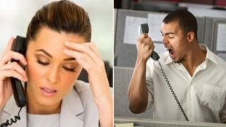 When customer service staff lose their s**t with rude customers