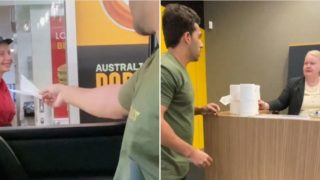 Prankster attempts to cash in on new value of toilet paper in bloody gold video