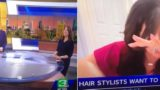 The Internet noticed something in the background of this morning television bathroom interview