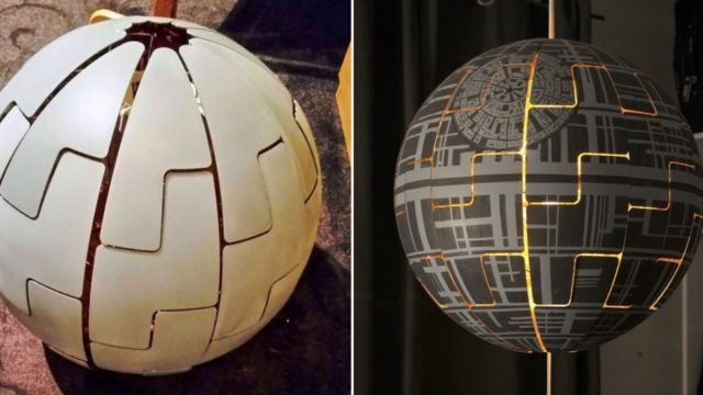 Legend explains how to turn an IKEA lamp into the f**ken death-star