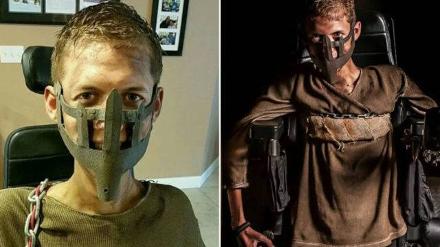Student turns his wheelchair into brilliant Mad Max cosplay