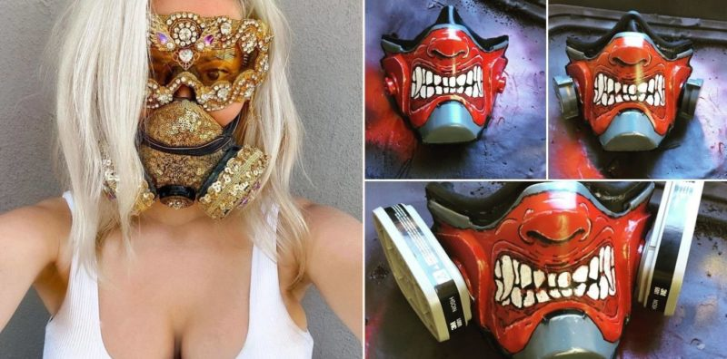These homemade masks are bloody brilliant