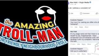 This bloke trolls Facebook pages pretending to be customer service, and it's bloody gold