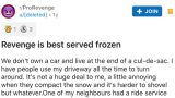 Canadian bloke gets bloody brilliant revenge on driver with frozen trash can
