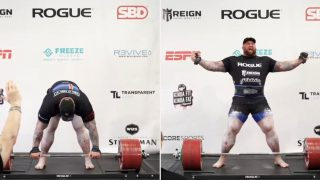The Mountain breaks the world f*@#en record for deadlifting