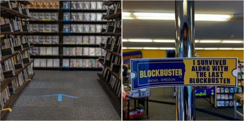 Not even a global pandemic can stop the last blockbuster in the world
