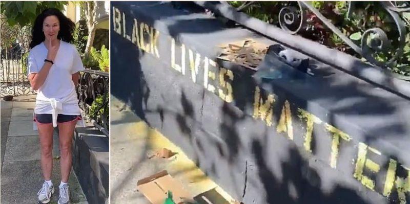 """""""Karen"""" calls cops on bloke for writing """"Black Lives Matter"""" on his house"""