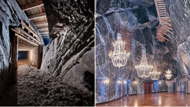 Incredible underground salt mine in Poland needs to be seen to be believed