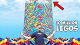 Bloke builds the world's largest Lego tower!