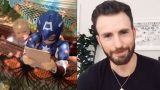 Chris Evans sends message to heroic six-year-old who saved sister from dog attack