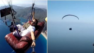 This Paragliding couch potato will make your palms sweat