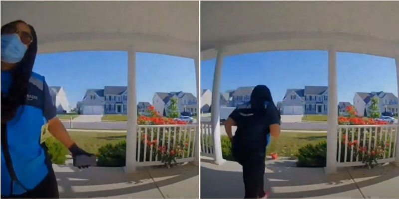 Top Amazon delivery driver follows through on hilarious delivery request