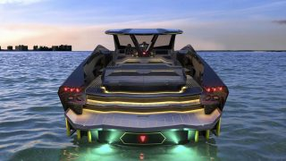 Lamborghini unveils 3.4 million dollar yacht that looks like a f*@#en supercar