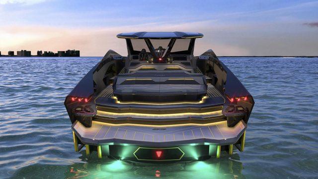 Lamborghini unveils 3.4 million dollar yacht that looks like a f*@#en supercar