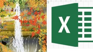 77-year-old Japanese artist creates landscape paintings with Excel