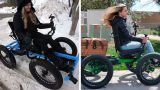 "Legend bloke designs off-road ""wheelchair"" so his wife could go places she never imagined"
