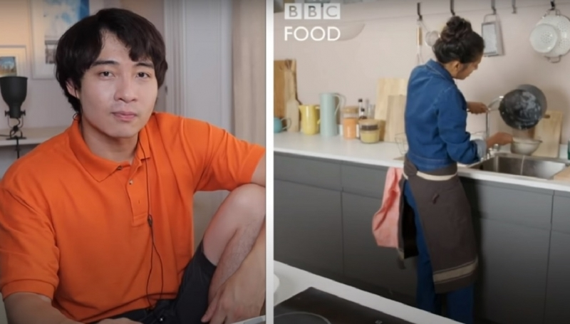 Blokes critical analysis of TV chef cooking rice goes viral