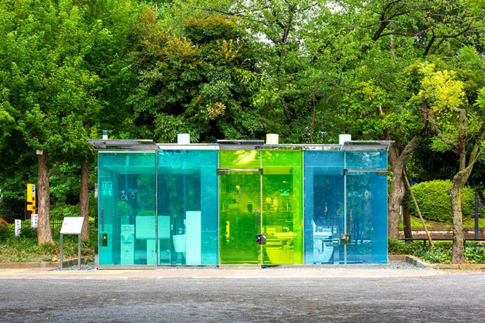 Why Japan's transparent public toilets are a bloody stroke of genius