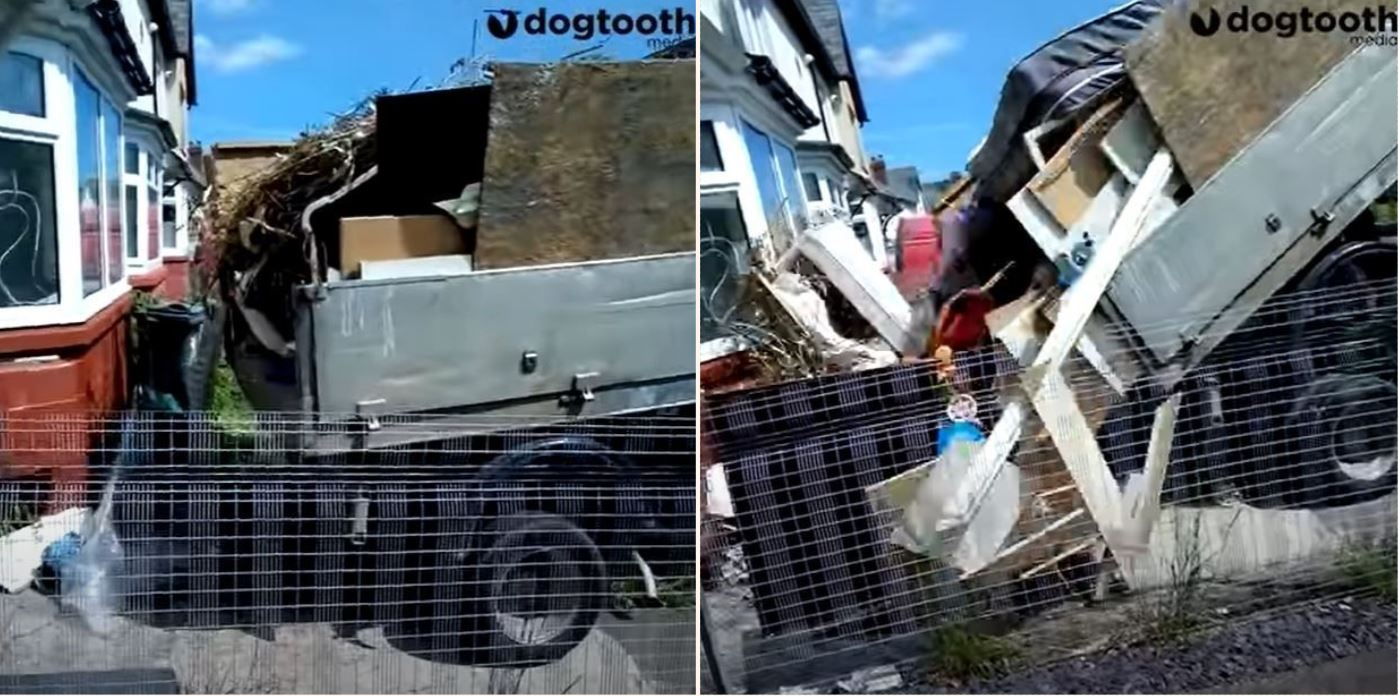 Removal company returns customer's waste after failing to pay