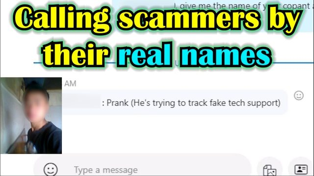 Scambaiting hacker leaves scammers in awkward silence after calling them by their real name
