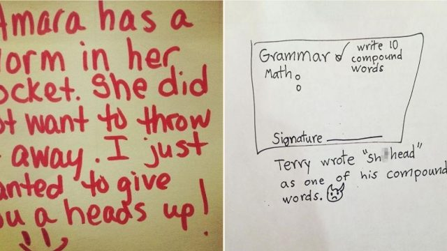 Some of the cringiest notes from teachers you're likely to see