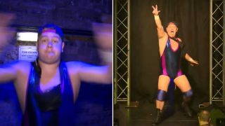 Professional Wrestler's entrance to Madonna song is all time