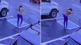 CCTV footage capturing woman's reaction to getting a job is racking up thousands of views