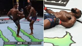 "UFC Commentators label this spinning-heel-kick ""the greatest KO ever"""
