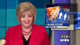 Man threatening to 'blow up' Home Depot has news reporters in stitches