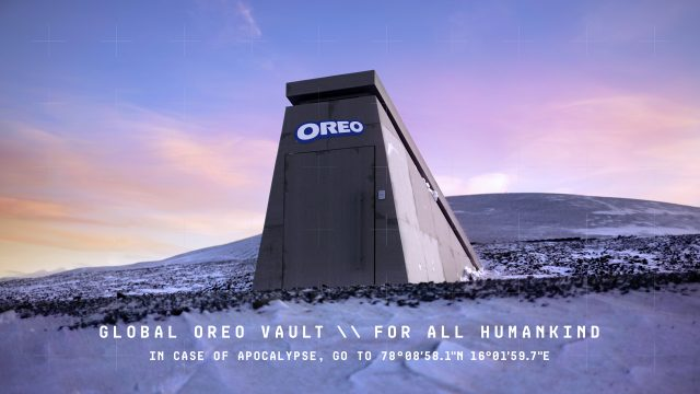 Oreo built a doomsday vault to protect cookies for future generations