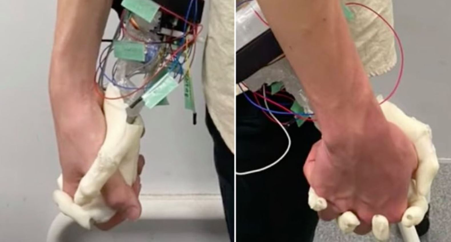 Japanese scientists create robotic girlfriend hand for 'lonely people'