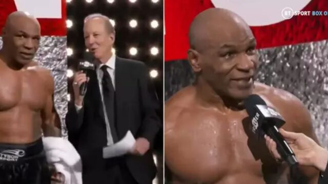 The best thing about Tyson vs Roy Jones may have been this post-fight interview