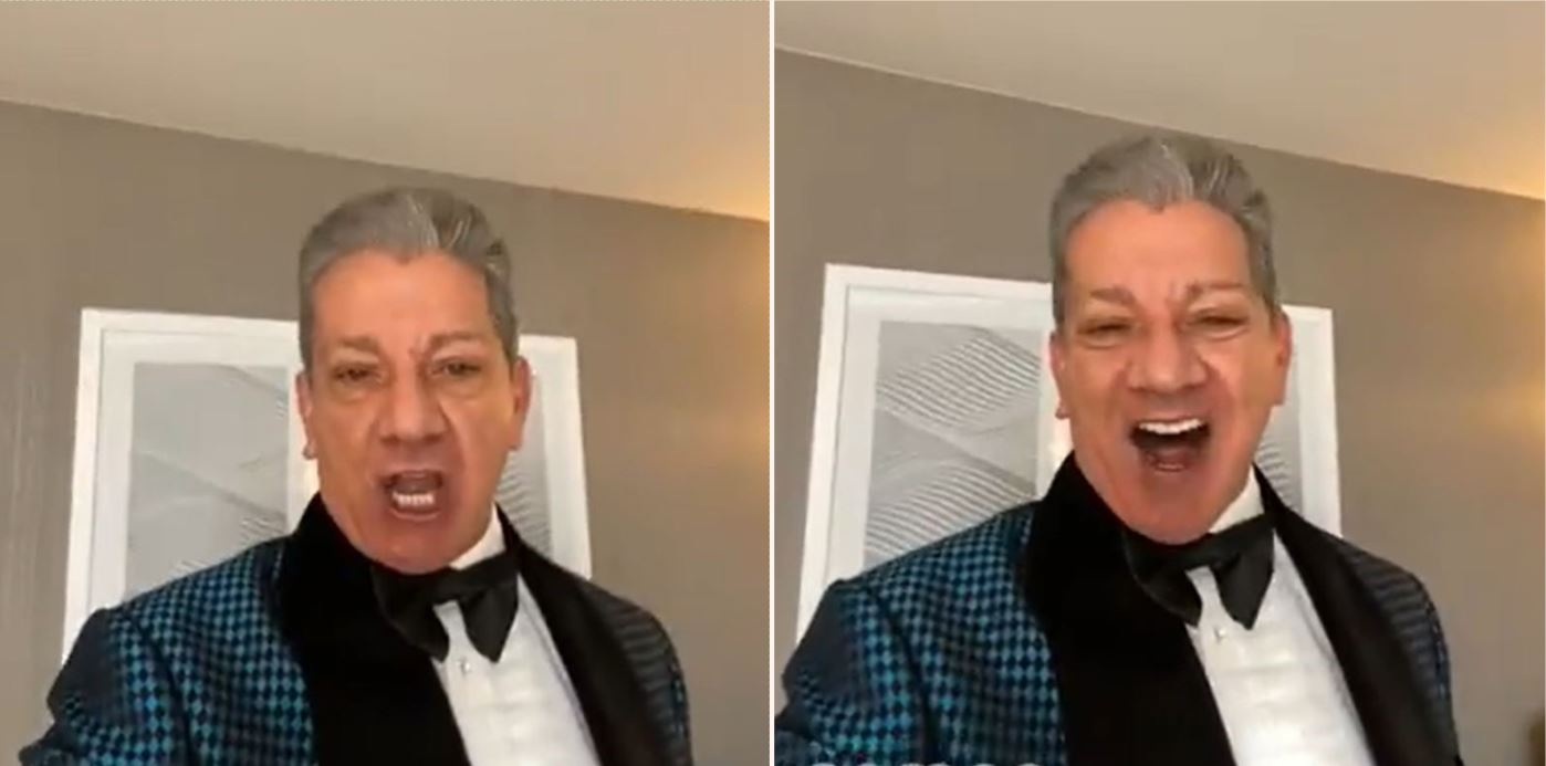 Bloke pays UFC announcer Bruce Buffer to break up with his missus for him