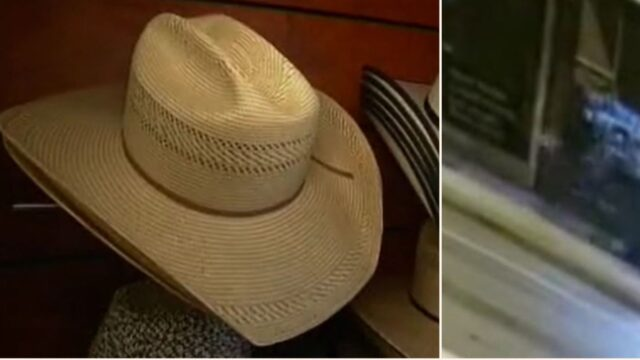 Australian bloke used a Wheelie Bin to nick $10k worth of cowboy hats