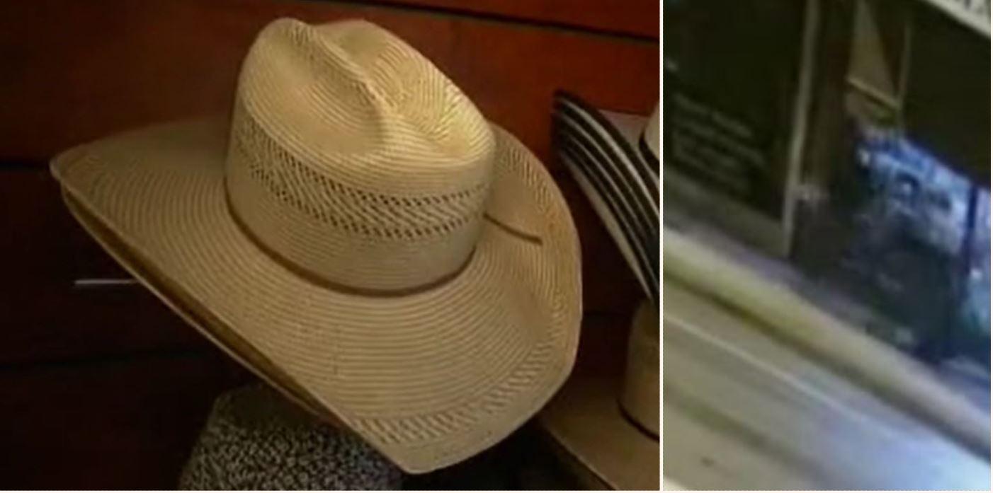 Australian bloke used a Wheelie Bin to nick $10k worth of cowboy hats