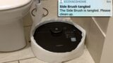 Mum receives messages of distress from 'smart' vacuum cleaner