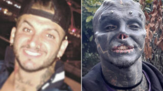 French bloke transforms himself into 'black alien'