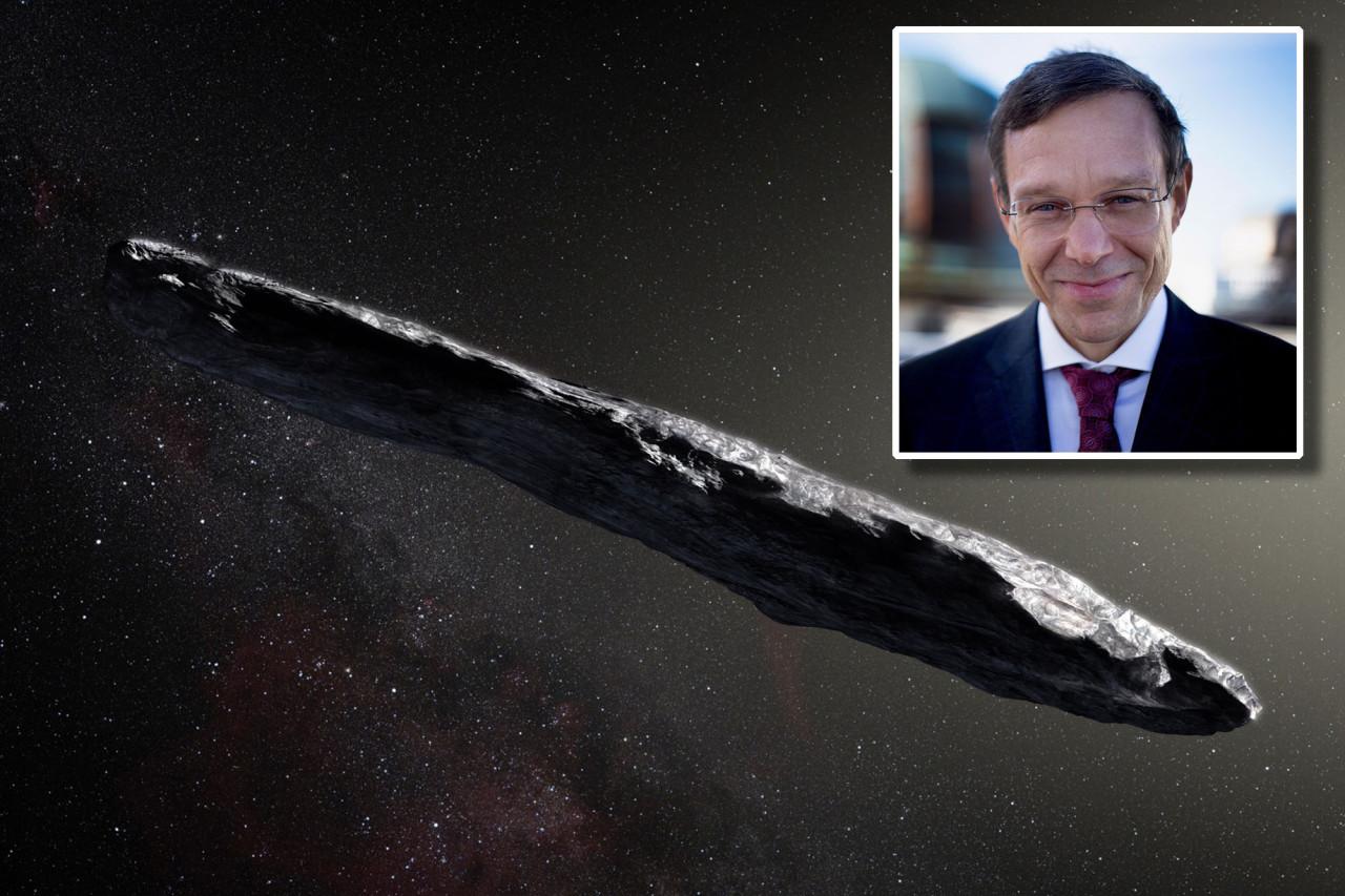 Harvard Professor reckons he's found alien trash passing by planet earth!