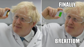 Photo of Boris Johnson holding the COVID vaccine becomes Photoshop battle