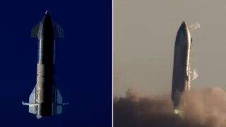 SpaceX successfully tests first of its kind landing flip manoeuvre