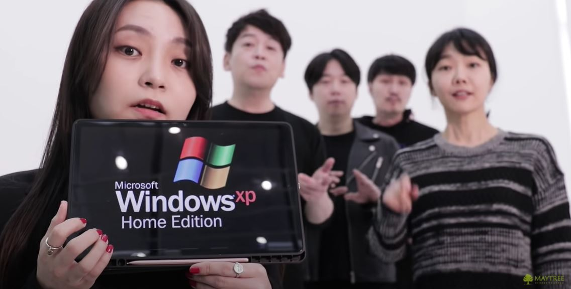 This Acapella group bloody nails Windows sound effects