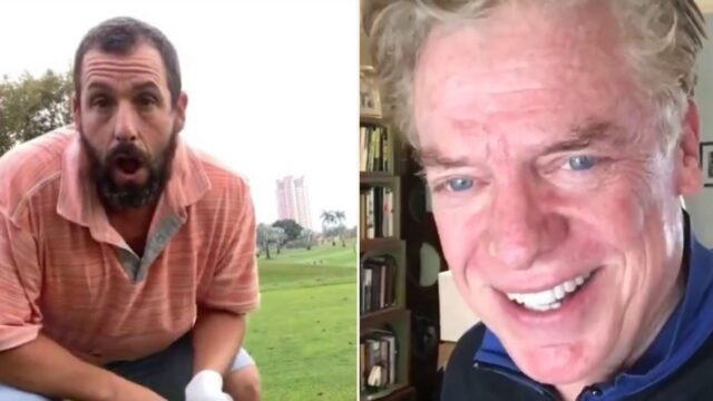 Epic banter between Happy Gilmore and Shooter McGavin on 25th anniversary