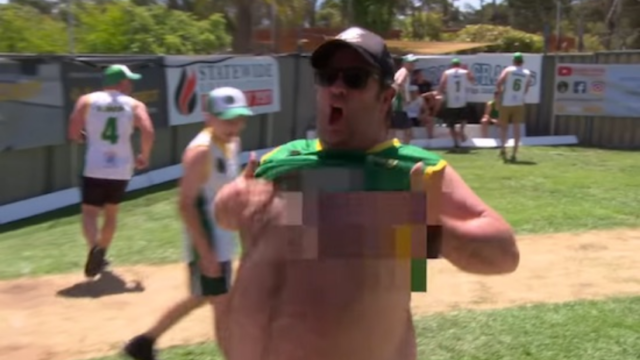 Blokes from around the world have traveled to see 'Greatest Backyard' in Australia
