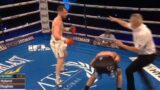 The moment star KO'd out after turning back to opponent