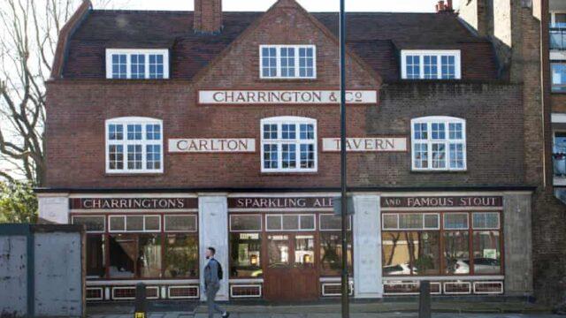 Pommy pub rebuilt 'brick by brick' after illegal demolition